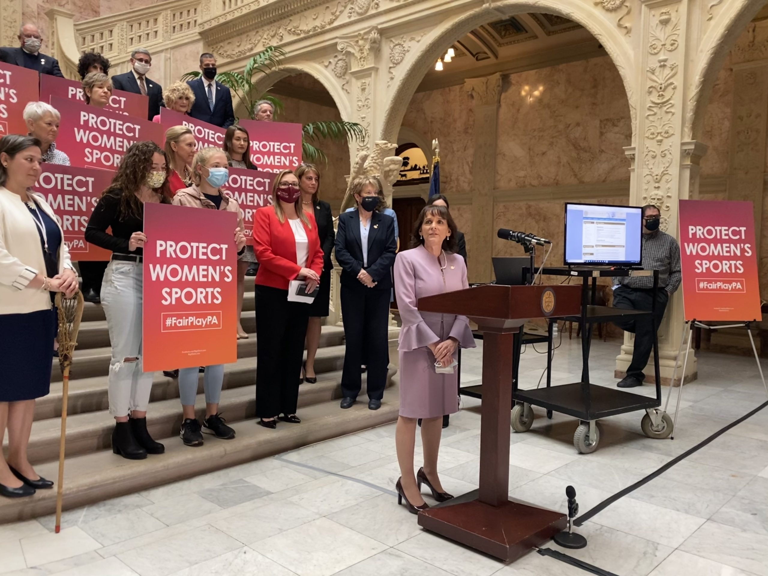 Pa. Republicans join nationwide push to ban transgender girls from women's sports