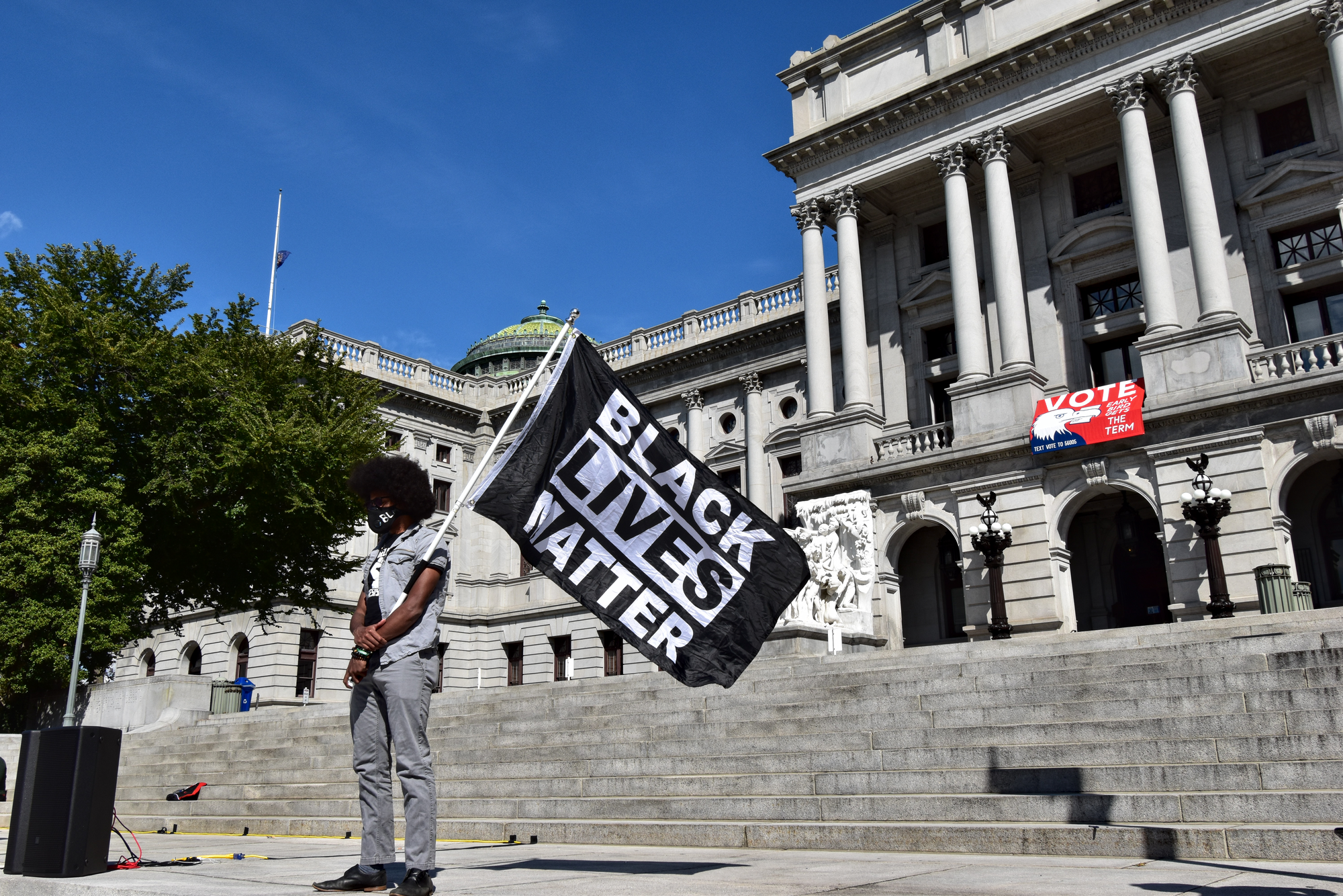 'We Can't Wait': Activists gather in Harrisburg for racial justice rally ahead of November election
